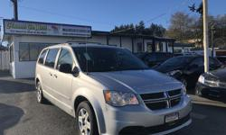 Make Dodge Model Grand Caravan Year 2012 Colour Silver kms 111000 Trans Automatic The most popular van in the country is HERE at Colwood Car Mart! With it's full stow-n-go seating it's the perfect van for the whole family! We finance! 2 paystubs and