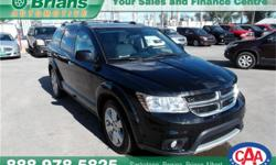 Make Dodge Model Journey Year 2012 Colour Black kms 101673 Trans Automatic Price: $18,995 Stock Number: 6847A Engine: 3.6L V6 Cylinders: 6 Fuel: Gasoline INTERESTED? TEXT 3062016848 WITH 6847A FOR MORE INFORMATION! $18995 - 2012 Dodge Journey R/T - - This