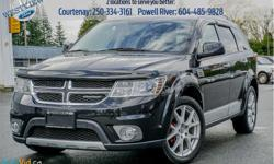 Make Dodge Model Journey Year 2012 Colour Black kms 128030 Trans Automatic Price: $17,988 Stock Number: 18273B VIN: 3C4PDDFG7CT148670 Engine: 283HP 3.6L V6 Cylinder Engine Cylinders: 6 Fuel: Gasoline Leather Seats, Bluetooth, Heated Seats, Heated Steering