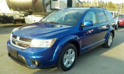 Make Dodge Model Journey Year 2012 Colour Blue kms 104141 Trans Automatic Stock #: BC0030643 VIN: 3C4PDCCB3CT364468 2012 Dodge Journey SXT 7 Passenger, 2.4L, 4 cylinder, 4 door, automatic, FWD, 4-Wheel ABS, cruise control, front and rear air conditioning,