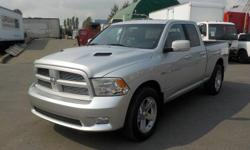 Make Dodge Model Ram 1500 Year 2012 Colour Silver kms 105333 Trans Automatic Stock #: BC0030286 VIN: 1C6RD7HT4CS192090 2012 Dodge Ram 1500 Sport Quad Cab 6.5 ft. Box 4WD, 5.7L, 8 cylinder, 4 door, automatic, 4WD, 4-Wheel ABS, cruise control, air