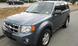 Make Ford Model Escape Year 2012 Colour BLUE Trans Automatic HERE IS BEAUTIFUL 2012 FORD ESCAPE XLT 4WD WITH APPROX 160,000KM'S. THIS FANASTIC SUV HAS POWER SUNROOF, POWER WINDOWS, POWER SEAT , POWER LOCKS CRUISE CONTROL , AIR CONDITIONING AND SO MUCH