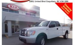 Trans Automatic This 2012 Ford F150 Supercab STX comes with alloy wheels, tinted rear windows, power locks/windows/mirrors, steering wheel media control, Bluetooth, A/C, CD player, SIRIUS radio, AM/FM stereo, rear defrost, 6 seating capacity and so much
