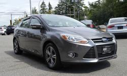 Make Ford Model Focus Year 2012 Colour Grey kms 101231 Trans Automatic *NEW YEAR SALE* - $1,000 OFF - Local BC Vehicle, with Great Service History! Loaded with options: Heated Seats, Bluetooth, 5-Spoke Alloys, 3 Months Free XM Sat Radio, Aux input and