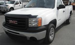 Make GMC Model Sierra 1500 Year 2012 Colour White kms 62425 Price: $16,850 Stock Number: BC0027561 Interior Colour: Black Fuel: Gasoline 2012 GMC Sierra 1500 Work Truck Long Box 2WD, 4.8L, 2 door, automatic, RWD, 4-Wheel ABS, cruise control, air