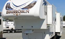 Bighorn by Heartland has a reputation of RV designs that inspire; construction that endures; and value that is affordable. They introduced the industry to innovations such as the Universal Docking Center, 88-Degree Turning Radius, Laminated World