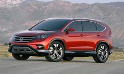 Make Honda Model CR-V Year 2012 Colour Red Trans Automatic The Car You Deserve Bad credit? Poor credit? No credit at all? We work with all credit standings to find you the car you deserve. Don't settle. Let us help you find your best car. Apply today!