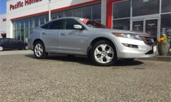 Make Honda Model Crosstour Year 2012 Colour Silver kms 60918 Trans Automatic Price: $22,350 Stock Number: 7347Q Fuel: Gasoline 1 OWNER CERTIFIED 2012 HONDA CROSSTOUR EX-L ALL WHEEL DRIVE WITH FACTORY WARRANTY until August 30, 2018 or 120,000 kms,