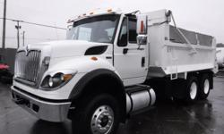 Make International Year 2012 Colour White Trans Automatic kms 209692 Stock #: BC0030654 VIN: 1HTWGAZT9CJ539582 2012 International 7400 Dump Truck Diesel Air Brakes Tandem, 9.3L, 6 cylinder, 2 door, Alison automatic, 6X4, white exterior, gray interior,