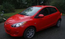 Make Mazda Model 2 Year 2012 Colour red kms 7500 Trans Automatic Cheap & reliable runner -012 Mazda 2 ..only 75000kms RED -grey inside..good condition in and out all usual options: AC, windows ,locks,CD ..ext, $5500,-Firm 604 538 4883 604 341 7955