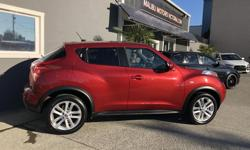 Make Nissan Model Juke Year 2012 Colour Red kms 90000 Trans Automatic This is a wonderful little car that is fun to drive with all the creature comforts Includes: * 1.6ltr * Automatic * Leather * Heated seats * Sunroof * Back up Camera * Lots more.... 90