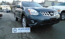 Make Nissan Model Rogue Year 2012 Colour blue kms 132000 Trans Automatic Overview: Body Type SUV Engine 2.5L 170.0hp Transmission Automatic Transmission Drivetrain AWD Exterior Green Interior Kilometers 132,027 Doors 4 Doors Stock GW9091 Fuel Mileage 9.6