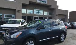 Make Nissan Model Rogue Year 2012 Colour Blue kms 145000 Trans Automatic A 2012 Nissan Rouge SV AWD, very well taken car of with the CVT Transmission. Great for fuel economy! Plenty of space for the kids and dog in the back. Come down to Everyday Motor