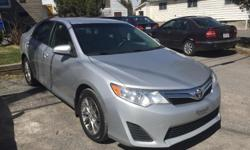Make Toyota Model Camry Colour Silver Trans Automatic kms 180000 Auto, 2.5L, 4 doors, power windows and locks, power side mirrors, power driver seat, A/C, CD player, ABS, Traction, Bluetooth, Navigation,alloy rims, keyless remote, 180000km, safety and