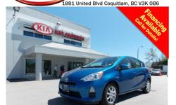 Trans Automatic This locally owned 2012 Toyota Prius Hybrid comes with alloy wheels, fog lights, steering wheel media controls, A/C, push start engine, Bluetooth, power locks/windows/mirrors/seats, CD player, AM/FM stereo, XM radio and so much more! STK #