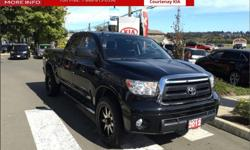 Make Toyota Model Tundra Year 2012 Colour Black kms 60373 Trans Automatic Price: $34,995 Stock Number: FO2608A Engine: V-8 cyl Fuel: Gasoline A clean accident free, 1 owner BC Truck. This one comes with a upgraded TRD package and bucket power driver's