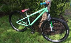 I have a 2012 Transition Trail or Park in almost perfect condition. It is mostly stock. The upgrades are a new Shimano brake, Chromag OSX bars and a Chromag Overture seat. The reason I am selling the bike is because I don't have any time to ride it and am