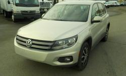 Make Volkswagen Model Tiguan Year 2012 Colour Grey kms 143989 Trans Automatic Stock #: BC0030675 VIN: WVGBV7AX6CW558737 2012 Volkswagen Tiguan S 4Motion, 2.0L, 4 cylinder, 4 door, automatic, AWD, 4-Wheel AB, air conditioning, AM/FM radio, CD player, power