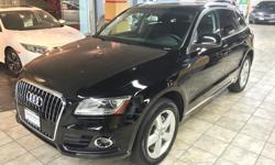 Make Audi Colour Black Trans Automatic kms 37000 Available now in our used car showroom is this fantastic 2013 Audi Q5 Premium 2.0T Tiptronic! Local Vehicle with No Accident Declarations. NO CHARGE Audi Care Factory Scheduled Maintenance Package included