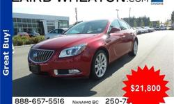 Make Buick Model Regal Year 2013 Colour Crystal Red Tintcoat kms 39082 Trans Automatic Price: $21,800 Stock Number: 82270 Interior Colour: Black Engine: Turbocharged Gas/Ethanol I4 2.0L/122 Cylinders: 4 Fuel: Flex Fuel Look at this 2013 Buick Regal Turbo
