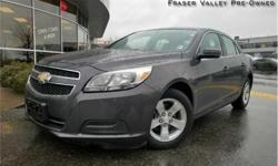 Make Chevrolet Model Malibu Year 2013 Colour Grey kms 51517 Trans Automatic Price: $13,888 Stock Number: BA1527 VIN: 1G11B5SA2DF231527 Engine: 197HP 2.5L 4 Cylinder Engine Fuel: Gasoline Low Mileage! We hand select every vehicle we purchase, offering our