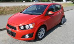 Make Chevrolet Model Sonic Year 2013 Colour RED Trans Automatic HERE IS A BEAUTIFUL 2013 CHEVROLET SONIC LT. THIS FANTASTIC GAS SAVING CAR HAS POWER SUNROOF , POWER WINDOWS, AIR CONDITIONING , CRUISE CONTROL GPS , POWER LOCKS AS JUST A FEW OF THE OPTIONS