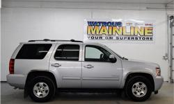 Make Chevrolet Model Tahoe Year 2013 Colour Silver Ice Metallic kms 109642 Trans Automatic Price: $36,995 Stock Number: G1527A Engine: Gas/Ethanol V8 5.3L/327 Cylinders: 8 Fuel: Flex Fuel Racy yet refined, this 2013 Chevrolet Tahoe banished all