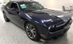 Make Dodge Model Challenger Year 2013 Colour Jazz Blue Pearl Coat kms 69900 Trans Manual Price: $33,477 VIN: 2C3CDYCJ7DH593107 Interior Colour: Dark Slate Gray/Radar Red Engine: HEMI 6.4L V8 470hp 470ft. lbs. Cylinders: 8 The Jazz blue 2013 Dodge