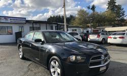 Make Dodge Model Charger Year 2013 Colour Black kms 92000 Trans Automatic Mean! Style and intimidation come together perfectly in the 2013 Dodge Charger. Come check it out HERE at Colwood Car Mart! We finance! 2 paystubs and you're approved! FAMILY OWNED