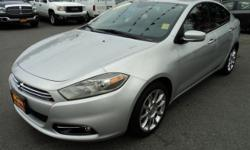 Make Dodge Model Dart Year 2013 Colour Silver kms 24000 Trans Automatic 1.4L Turbo, Automatic, Power Windows, Locks, Mirrors, Seat, AC, Tilt, Cruise, Sat Radio, Aux Input, Navigation, Back Up Camera, Heated Leather Seats, Sunroof, Alloys, Foglights, ABS,