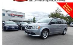 Trans Automatic This 2013 Dodge Grand Caravan SE/SXT comes with alloy wheels, roof racks, tinted rear windows, power locks/windows/mirrors, steering wheel media controls, CD player, AM/FM radio, rear defrost, A/C and so much more! STK # 62030A DEALER