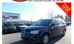 Trans Automatic 2013 Dodge Grand Caravan SE/SXT has alloy wheels, tinted rear windows, power mirrors/windows/locks, steering wheel controls, rear defrost, A/C, AM/FM radio, CD player, 7 seating capacity and so much more! STK #351667 DEALER #31228 Need to