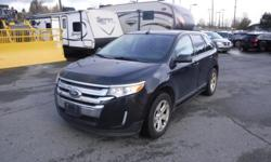 Make Ford Model Edge Year 2013 Colour Black kms 138742 Trans Automatic Stock #: BC0030582 VIN: 2FMDK3J95DBA23803 2013 Ford Edge SEL FWD, 2.0L, 4 cylinder, 4 door, automatic, FWD, 4-Wheel ABS, cruise control, air conditioning, AM/FM radio, CD player, power