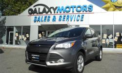 Make Ford Model Escape Year 2013 Colour Grey kms 87204 Trans Automatic Price: $20,995 Stock Number: V20433 Interior Colour: Black Engine: 2.0L I4 ECOBOOST ENGINE Cylinders: 4 Fuel: Gasoline Accident Free, One Owner, BC Only, NEW Rear Brake Pads/Rotors,