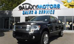 Make Ford Model F-150 Year 2013 Colour Black kms 115269 Trans Automatic Price: $39,995 Stock Number: M20384 Interior Colour: Grey Engine: 3.5L ECOBOOST V6 ENGINE Cylinders: 6 Fuel: Gasoline Accident Free, One Owner, Navigation, Bluetooth, Leather, Power