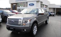 Make Ford Model F-150 Year 2013 Colour Grey kms 57877 Trans Automatic Price: $34,366 Stock Number: 190121 VIN: 1FTFW1EFXDFD59676 Interior Colour: Black Leather Engine: 5.0L V8 Cylinder Engine Low KMs, accident free, heated and cooled memory leather seats,
