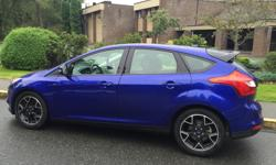 Make Ford Model Focus Year 2013 Colour Blue kms 73000 Trans Automatic This Ford Focus SE 5 DR HB is the Sporty Model that comes with many great features, Called the Sports Package , 2.0L, 4 cylinder, 4 door, automatic, FWD, 4-Wheel ABS, cruise control,
