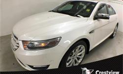 Make Ford Model Taurus Year 2013 Colour White Platinum Metallic Tri-Coat kms 40830 Trans Automatic Price: $22,921 Stock Number: 15DU22A Cylinders: 6 Low KMs, PST Paid, No Accidents, AWD, Leather Heated and Cooled Seats, Power Sunroof, Remote Start,