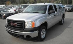 Make GMC Model Sierra 1500 Year 2013 Colour Silver kms 112015 Price: $21,940 Stock Number: BC0027733 Interior Colour: Black Cylinders: 8 Fuel: Gasoline 2013 GMC Sierra 1500 Work Truck Ext. Cab 4WD w/ Canopy, 5.3L, 8 cylinder, 4 door, automatic, 4WD,