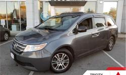 Make Honda Model Odyssey Year 2013 kms 80743 Trans Automatic Price: $25,995 Stock Number: 192130A VIN: 5FNRL5H6XDB502378 Engine: 248HP 3.5L V6 Cylinder Engine Fuel: Gasoline Sunroof, Leather Seats, Bluetooth, Rear DVD Entertainment, Rear View Camera! The