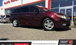 Make Honda Model Odyssey Year 2013 Colour Red kms 56715 Trans Automatic Price: $35,000 Stock Number: B9936A Fuel: Gasoline Zero (0) ICBC claims! This CERTIFIED 2013 Honda Odyssey Touring has factory warranty until July 14th, 2019 or 120,000kms, whichever