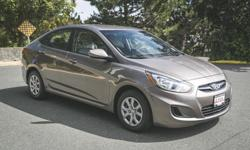 Make Hyundai Model Accent Year 2013 Colour BROWN kms 71401 Trans Automatic 2013 HYUNDAI ACCENT GL Price $ 10988 * Stock # 6RV612022A Exterior Colour: BROWN Odometer: 71401 4-Cylinder Engine Front Wheel Drive ABS Brakes Air Conditioning Aluminum Wheels