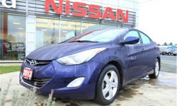 Make Hyundai Model Elantra Year 2013 Colour Blue kms 167570 Trans Automatic Price: $6,884 Stock Number: R18066A VIN: 5NPDH4AE1DH218484 Interior Colour: Black Engine: 1.8L Inline4 Engine Configuration: Inline Cylinders: 4 Fuel: Regular Unleaded Heated