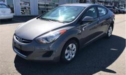 Make Hyundai Model Elantra Year 2013 Colour Grey kms 60841 Trans Automatic Price: $13,888 Stock Number: BA4429 VIN: 5NPDH4AEXDH294429 Engine: 148HP 1.8L 4 Cylinder Engine Fuel: Gasoline We hand select every vehicle we purchase, offering our clients the