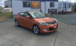 Make Hyundai Model Veloster Year 2013 Colour Vitamin C Pearl kms 112000 Trans Manual 2013 Hyundai Veloster, Tech, 3 Door Sport Compact, 1.6L L4 DOHC 16- Valve 138HP, 6 Speed Manual, Bought New In Victoria, Local One Owner, 112,000Kms, Factory Hyundai