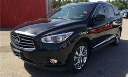 Make Infiniti Model JX Colour Black Trans Automatic kms 44373 Very nice condition and looking JX35 here now!! Options Power Sunroof Navigation System Passenger Airbag Driver Side Airbag Leather Interior Power Windows DVD Player Sunroof Keyless Entry Air