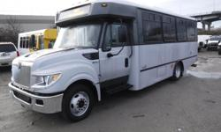 Make International Model 3000 Year 2013 Colour Grey kms 87994 Stock #: BC0029116 VIN: 4DRXWSKK8DH419451 2013 International 3000 22 Passenger Bus Diesel with Wheelchair Accessibility, 6.4L, 8 cylinder, Allison transmission, 3 door, automatic, RWD, cruise