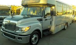 Make International Model 3000 Year 2013 Colour Gray kms 188136 Trans Automatic Stock #: BC0029236 VIN: 4DRXWSKK9DH419443 2013 International 3000 22 Passenger Bus Diesel with Wheelchair Accessibility, 6.4L, 8 cylinder, Allison transmission, 3 door,