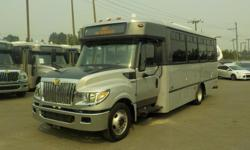 Make International Model 3000 Year 2013 Colour Grey kms 178492 Trans Automatic Stock #: BC0028870 VIN: 4DRXWSKK9DH200661 2013 International 3000 22 Passenger Bus Diesel with Wheelchair Accessibility, 6.4L, 8 cylinder, 2 door, automatic, RWD, cruise
