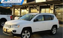 Make Jeep Model Compass Year 2013 Colour White kms 97688 Trans Manual Price: $10,900 Stock Number: ZA0404A VIN: 1C4NJDAB5DD259222 Interior Colour: Dark Grey Engine: 172HP 2.4L 4 Cylinder Engine Fuel: Gasoline Check out our large selection of pre-owned
